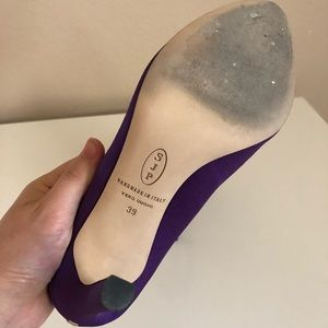 SJP by Sarah Jessica Parker Shoes - SJP Lady 10mm heels in purple, size 8.5